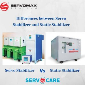 Servo Stabilizer and Static Stabilizer