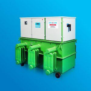 Oil Cooled Servo Voltage Stabilizer-Servomax Limited